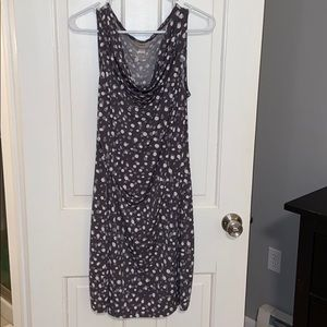 Loft polka dot sleeveless dress